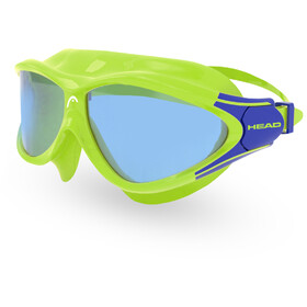 Head Rebel Lunettes de protection Enfant, lime/blue